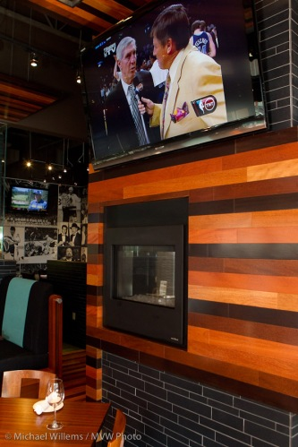 Wendel Clark Restaurant lit with an off-camera Lightsphere