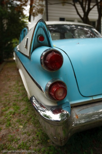 A 1958 Dodge shot in Oakville by Michael Willems using a wide angle lens