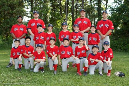 A baseball team