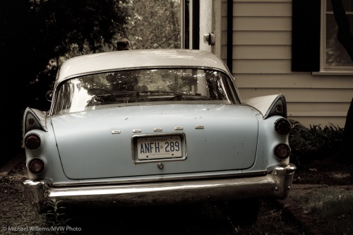 A 1958 Dodge, shot in Oakville by Michael Willems