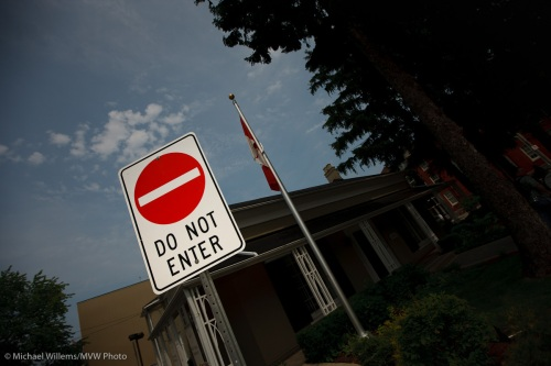 A Stop Sign in Oakville (Photo by Michael Willems)