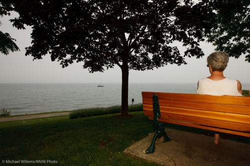 A Park Bench in Oakville (Photo by Michael Willems)