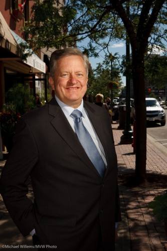 Oakville's mayor Rob Burton, photo by Michael Willems