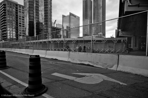 Toronto's G20 Security Fence, shot by Michael Willems