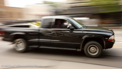 Panning picture by Michael Willems