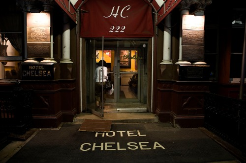 Hotel Chelsea, photo by Michael Willems