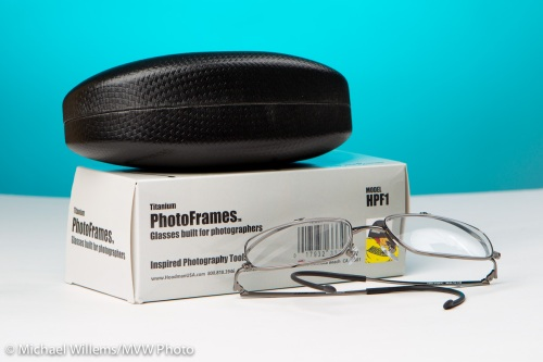 Hoodman Photoframes glasses, photo Michael Willems